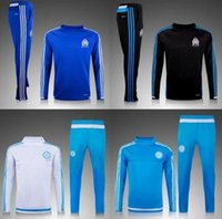 Wholesale 2016 survetement football Soccer tracksuit Chandal sweater Maillot de footall jogging pants Soccer training suit