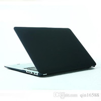 Wholesale 11 Colors New Matte Version Crystal Solid Hard Laptop Cases Cover For Macbook Air Pro Pro Retina Shell Skin