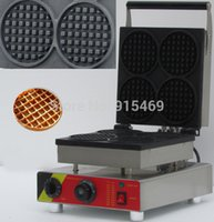 Wholesale v v Electric Commercial Round Waffle Maker Iron Machine Baker