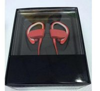 Wholesale Hot Used Earhook Wireless earphone bluetooth sports headset wireless headphone with mic and retail box