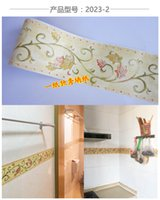 asia paper bag - The PVC stick wallpaper Play the anchor line kitchen bathroom toilet waist stick crural line Rural style bag mail