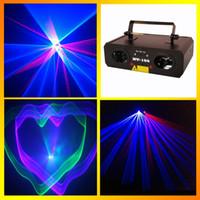 Wholesale HT mw Bule red Laser Projector Light Stage Lighting Bule red Laser DJ Party Disco Dance Floor Effect Lights