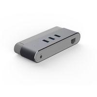 apple ethernet - Type C Ports USB Hub with RJ45 Gigabit Ethernet Adapter for Apple Macbook Pro Air Imac Mac