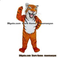 bengal tiger pictures - Bengal Tiger Mascot Costumes Cartoon Character Adult Sz Real Picture