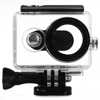 Wholesale High Strength M Transparent Waterproof Dust proof Cover Case for Xiaomi Yi Action Sport Camera with Optical Film Surface