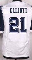 baseball draft - NIK Elite Football Stitched Cowboys Draft Ezekiel Elliott Smith DAK PRESCOTT White Blue Thanksgiving Jerseys Mix Order