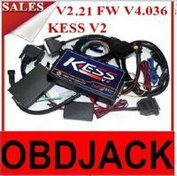 auto tune demo - DHL Free New KESS V2 OBD2 Manager chip Tuning Kit FWv4 Software v2 Master version no token limit Auto ECU Programmer
