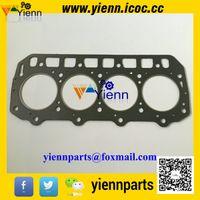 Wholesale Yanmar TNE98T TNE98 D98E Cylinder head gasket for Komatsu SK1020 SK1020 N wheel loader engine S4D98E NFD overhual repair