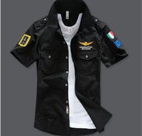 Wholesale 2016 Brand men summer aeronautica militare brand men s t shirts air force one short sleeve army tshirt air force clothing hight quality