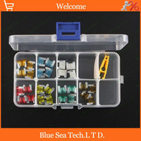 Wholesale S stores A A Mini type Auto fuse Kit with transparent box car fuses sets for Audi Toyota Mazda VW etc