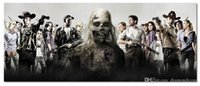 Wholesale The Walking Dead Comic TV Poster x24 Canvas Printing Poster shipping free
