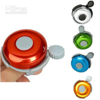 Wholesale New Aluminum alloy Bicycle Bell Bike Bell Sound Resounding High Quality Bike Handlebar Ring Horn