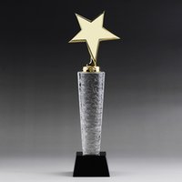 crystal awards and trophies - Custom K9 crystal trophy new design crystal trophy and awards TA7355 Ruiliang Crystal Handcraft Factory