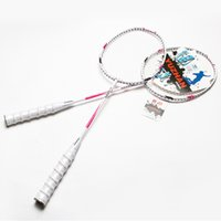 best fitness tips - Aluminum Alloy Badminton Rackets for Women Best Durable Graphite One piece Defensive Type Badminton Rackets Fitness Equipments HK