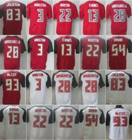 bay discount - 100 Stitched Tampa Bay Men s Elite Red Football Jerseys Winston Evans etc Discount Football Jerseys