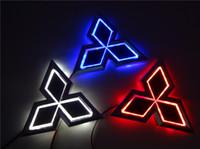 auto head lights mitsubishi - New D Auto standard Badge Lamp cm X cm Special modified car logo LED light for Mitsubishi LIONCEL Zinger ASX CUV