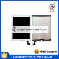 Wholesale Black White For iPad Air ipad LCD Display Screen Touch Screen Glass Digitizer Assembly