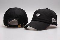 Wholesale New arrival Men diamond visor cap red black white plane flat brim colorful snapback cap women cotton sun golf baseball hat