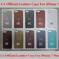 Wholesale Leather Case for iPhone iPhone Plus Official PU Protective Case with Retail Package up