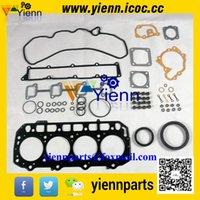 Wholesale Yanmar TNV94 TNV94L engine full gasket kit YM729906 with cylinder head gasket for Volvo EC55B EW55B excavator overhual repair