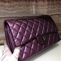 Wholesale Excelent Lady fashion Ori genuine leather flap shoulder Bag jumbo handbag hobo
