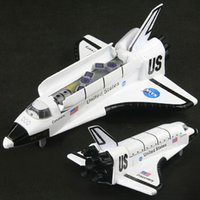 Wholesale The space shuttle Columbia shuttle Discovery spacecraft warrior alloy model toys