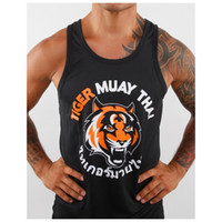 Wholesale Black and white tiger vest thai shorts muay thai boxing shorts muay thai clothing shorts muay thai muaythai shorts boxingshorts