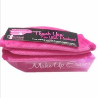 Wholesale 2016 New Makeup Eraser Magic Makeup Erasers ECO Makeup Remover Towels professional Makeup Cleaning Towel fast shipping by dhl