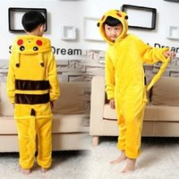 venda por atacado pyjama-5pcs Pikachu Outfit Pajamas Cosplay Costume Pijamas Onesies Adult Romper