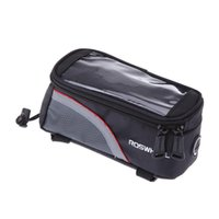Wholesale Sports Cycling Bicycle bag Bike Frame Front Tube Bag basket for Cell mobile Phone PVC H9401R