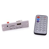 Wholesale 3W MP3 Player Module w USB TF Remote Controller with one remote control White and Greenl