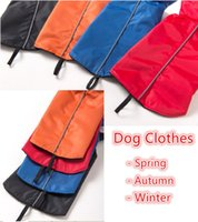 Wholesale Pet Fashion Series Dog Clothes Waterproof Vest Spring Autumn and Winter clothing Jackets colors Sizes
