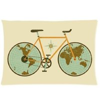 awesome beds - Custom Awesome Retro Bicycle Friend Gift x75cm Bedding Fashion Pillow Case For Sofa Bed Decor