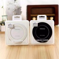 Wholesale 1PCS Vertical Fast Wireless Charging Pad Qi Wireless Charger EP NG930 With Fan Logo Original Material for Samsung GALAXY S7 Edg G9300