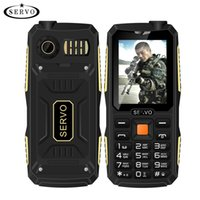 arabic languages - Quad Sim Original SERVO V3 mobile phone Dustproof Shockproof Phone SIM cards standby GPRS Russian Language keyboard