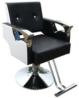 Wholesale Hair salon Hair Hairdressing chair Stainless steel handrails Hydraulic chair