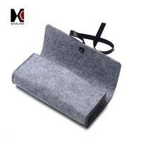 Wholesale Exquisite Soft Sunglasses Boxes Luxury Fabric Material Fashion Binding Band Eyewear Accessories