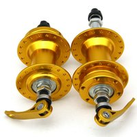 Wholesale New Arrival Bicycle Hubs Set MTB Road Bike Disc Brake Hubs Holes W Quick Release MN0142