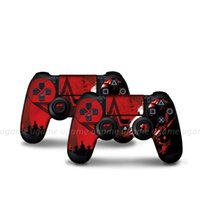 Cheap New style hot selling variety of colors 2 PS4 handle controller sticker adhesion strength Easy to use for ps4 skin sticker