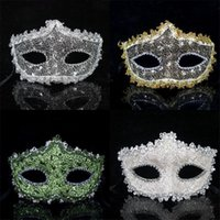 acting lines - Factory Direct Sales Fancy Slap up Delicate with Dragon Pattern Lining Cloth Leather Dressing and Acting Princess Masks for Lady in Ball