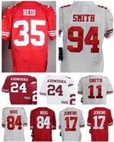 aldon smith jersey - 99 Aldon Smith A J Jenkins Randy Moss Alex Smith Nnamdi Asomugha Survive REID San Francisco jersey size small S XL
