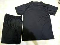 Wholesale Benwon Chelsea away black soccer kits PEDRO OSCAR FABREGAS HAZARD DIEGO COSTA men s thai quality sets Chelsea white football uniform