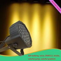 Wholesale LED Mini par light DMX512the six channel contro KTV bar background light Stage effect lamp laser light