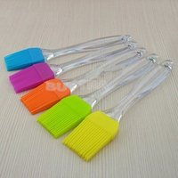 Wholesale Silicone Baking Bread Cook tools Pastry Oil Cream BBQ Utensil safety Basting Brush for cooking Pastry Tools