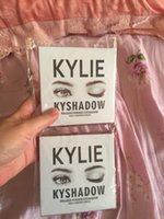 Wholesale Fast shipping within hours hot new kylie Kyshadow pressed powder eye shadow palette the Bronze Palette Kyshadow Kit Kylie Cosmetic