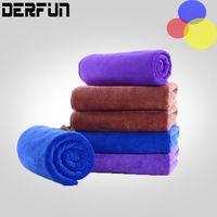 Wholesale Big cmx cm Microfiber Car Cleaning Towel Microfiber Car wash tools Cloth Hand Towel