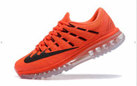 Wholesale Drop Shipping Top Quality max for Men Running Sports Trainers Outdoor Shoes with box