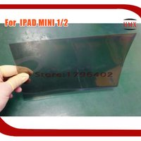 Wholesale LCD Polarizer Film For Apple IPAD Mini Tablet PC inch Polarized Sheet Light Film By DHL