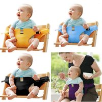 Wholesale Retail Baby Dining Chair Seat Safety Belt Feeding High Chair Harness Portable Baby Carrier High Quality Bebes Carrier Safety Belt