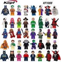 atom child - KF1008 Building Blocks Super Heroes Avengers Sets Captian America Spawn Atom Doctor Joker Harley Quinn Penguin Minifigures Children Gift Toy
